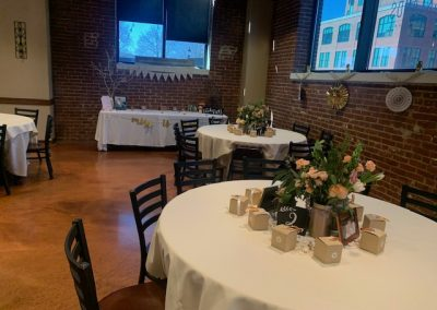 photo of private event room